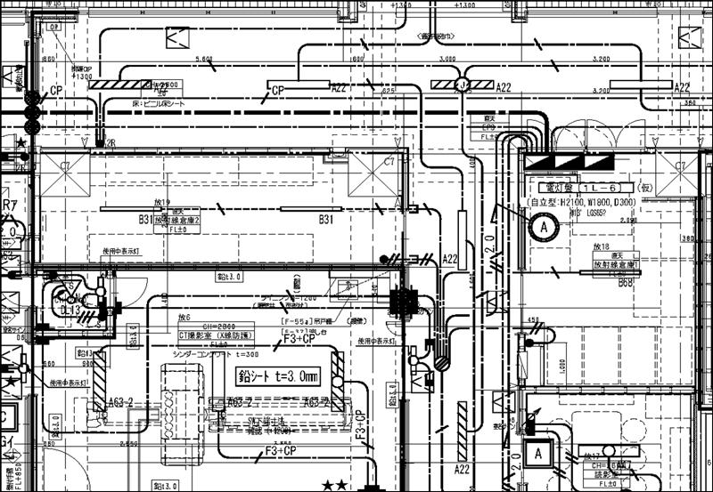 電灯図|建築施工図面