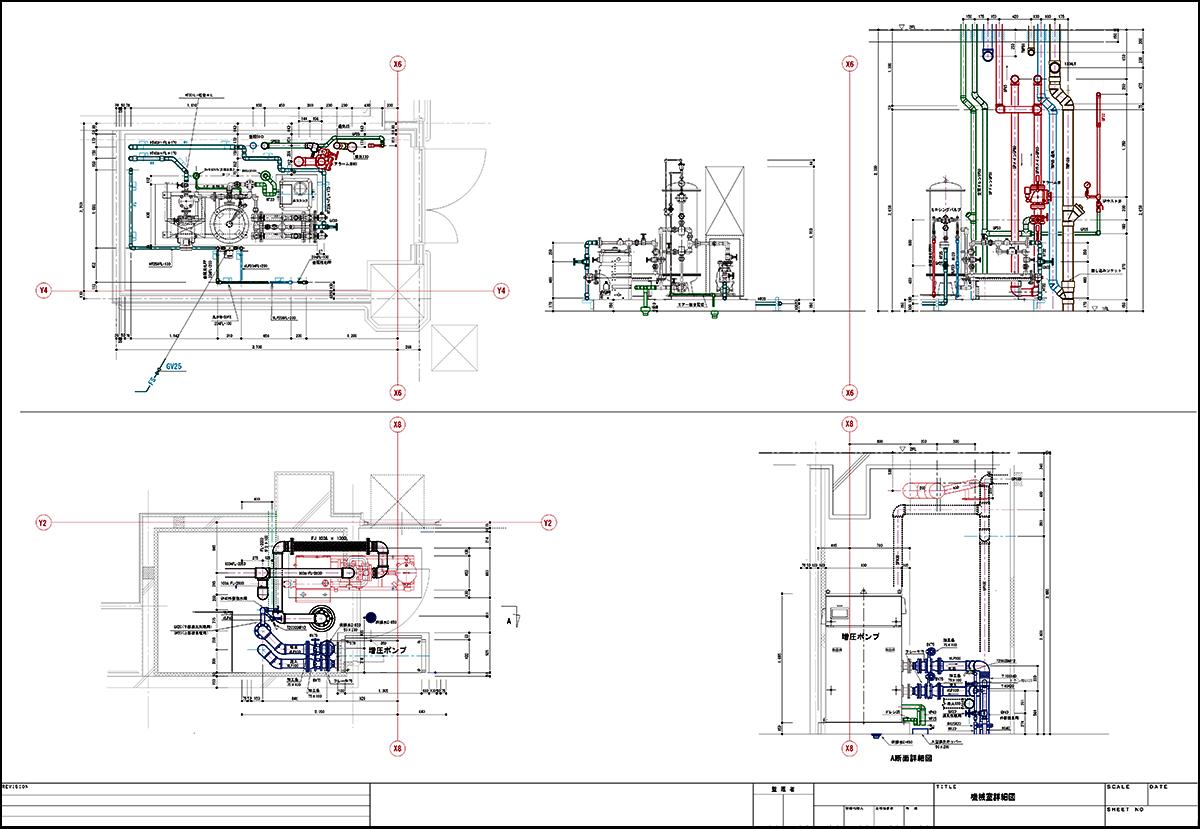 機械室詳細図